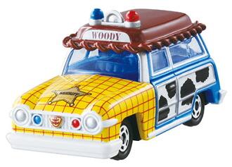 ディズニートミカ ディズニーモータース DM-19ラグーンワゴン ウッディ(Disney Tomica - Disney Motors DM-19 Lagoon Wagon Woody(Released))