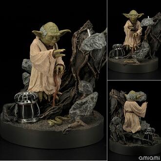 ARTFX スター・ウォーズ ヨーダ 帝国の逆襲版(リペイントver.) 1/7 簡易組立キット(ARTFX - Star Wars: Yoda The Empire Strikes Back Edition (Repainted Ver.) 1/7 Easy Assembly Kit(Pre-order))