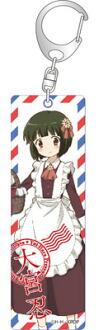 きんいろモザイク Pretty Days スティックアクリルキーホルダー 大宮忍(Kiniro Mosaic Pretty Days - Stick Acrylic Keychain: Shinobu Omiya(Pre-order))