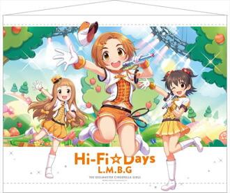 アイドルマスター シンデレラガールズ B2タペストリー L.M.B.G 2(THE IDOLM@STER Cinderella Girls - B2 Wall Scroll: L.M.B.G 2(Pre-order))
