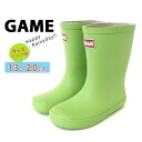 GAME junior and children's rain boots light weight! Pick fun color 8! / children's / boots /kids/ rain shoes /