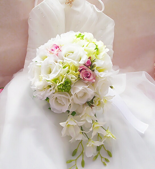 delivery silk flowers wedding bouquet