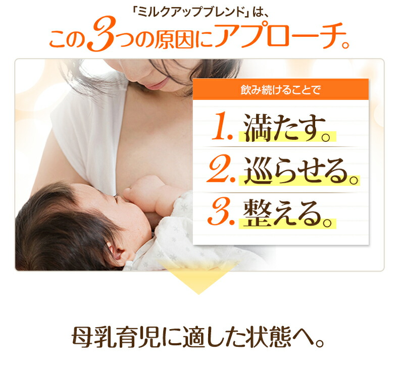 ハーブティー,母乳