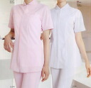 White women medical residential commercial Mont Blanc nurse white short sleeve