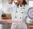 ★ White food ★ gender unisex coats cock dress sleeve