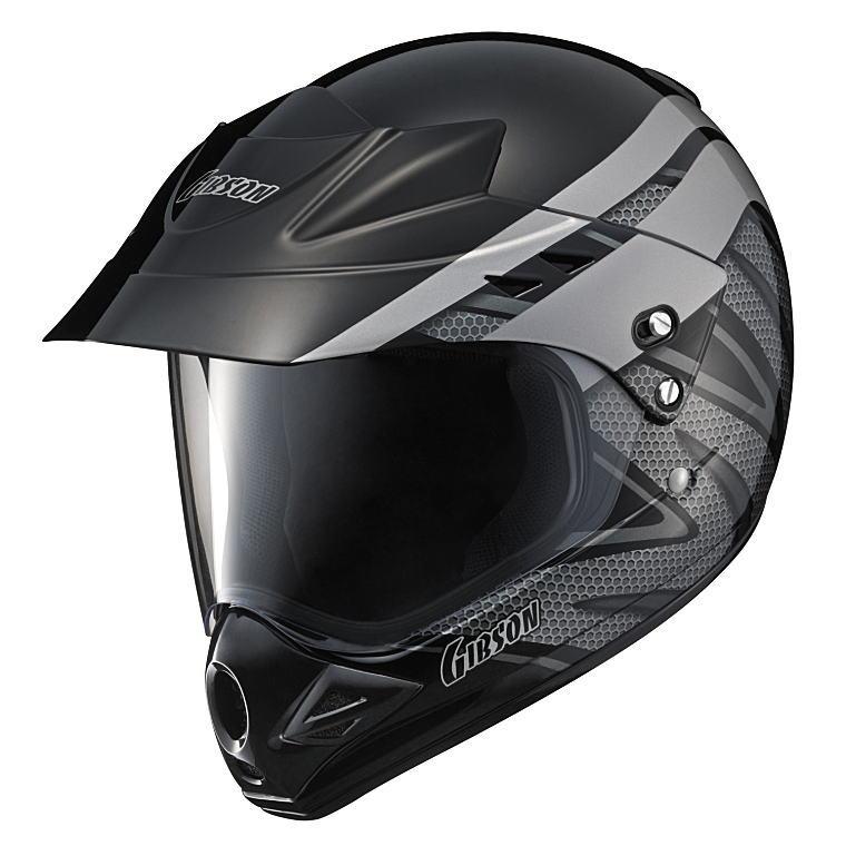 ヤマハヘルメットヤマハグラフィックオフロードヘルメットギブソンYX-3X3Ver-Tブラック