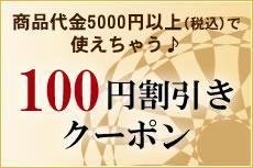 100円割引きクーポン
