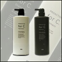 Number three pro action for c (force) shampoo 1000 ml & treatment set 1000 g