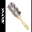 Denman brush D4 light series beach Wood