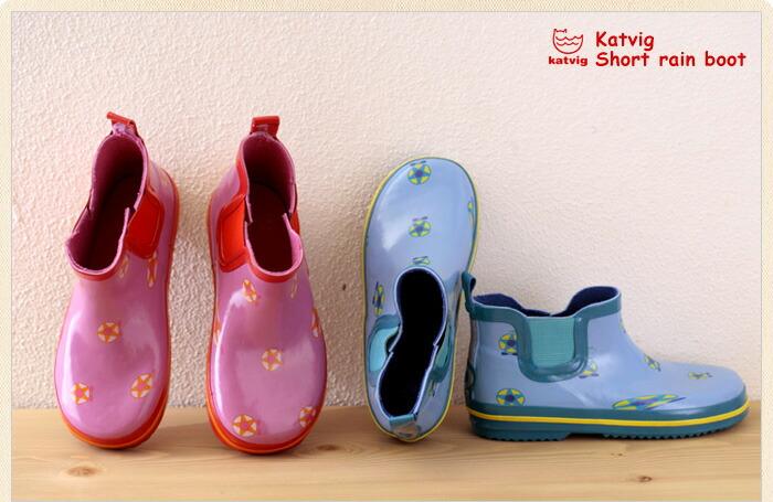 儿童短筒雨鞋