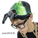 ankoROCK green apple galaxy bandana support cap / men space handle of cap Lady's cosmo handle of chief flamboyance baseball cap individual cap bandana cap handle of galaxy handle of hat Milky Way handle of space handle of green street cap space handle of brand clothes