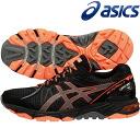◇14S3 asics( Asics) GEL-FujiTrabuco 3G (gel wisteria thoraboo co-3G) men's trail running shoes TJT114-9097