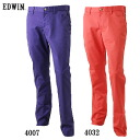 ★ support & time limited special sale ★ EDWIN GOLF Edwin flap tapered trousers long Pant KG503F annexspfblike