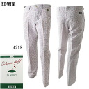 ★ support & time limited special sale ★ EDWIN GOLF Edwin sea soccer classic trouser long Pant KG503L annexspfblike