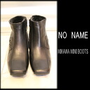 3 / 5 (Thu) 12:00 ~ 3 / 17 (fire) 9:59 to NO NAME (no name) MIKAWA MINI BOOTS women's mail-order coordinate code clothing BOUTIQUEannie.