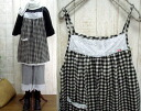 ♪ book sale gauze, gingham, キャミチュニック M ~ 4 L