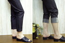 ♪ sale sale! ストレッチスキニ-8 minutes-length pants made in Japan, Indigo and black