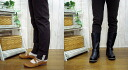 C リネンレ-Su with ストレッチスキニ-rumpled spats, black, Brown, gray size: M-L made in Japan