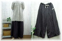 Book sale ♪ slab W gauze Maxi hakama and pants M-5 L
