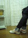 Les-sources with ストレッチスキニ-rumpled spats and black S-5 L made in Japan