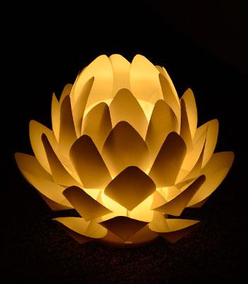 【インテリア】【ライト】【盆提灯】【新盆飾り】【カメヤマ】【照明】