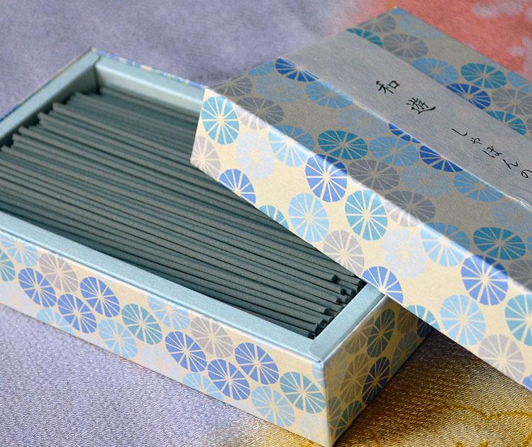 「和遊」平箱 お線香バラ詰 しゃぼんの香り