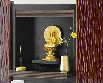 パネル仏壇「やすら樹」レンゲ彫