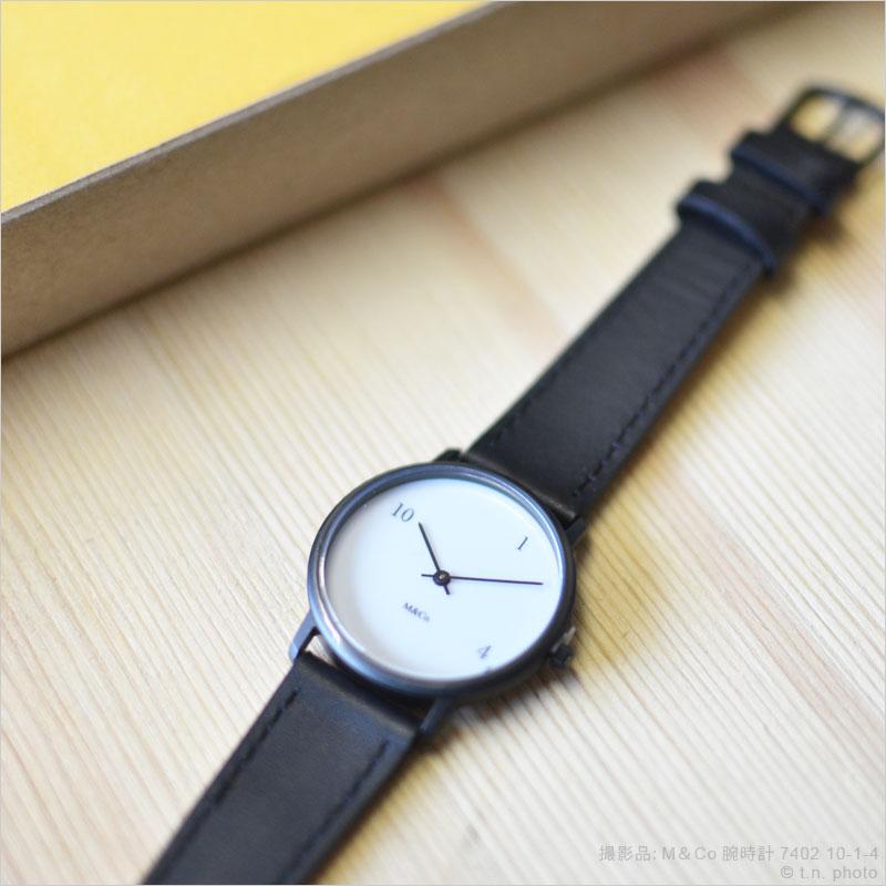M&Co 腕時計 ユニセックス ティボール・カルマン Tibor Kalman 時計 デザイナーズ デザイン リストウォッチ