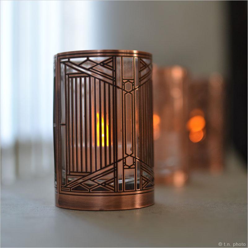 フランクロイドライト アートグラス LEDキャンドル フランクロイドライト LEDキャンドル Frank Lloyd Wright 間接照明 ロウソク 蝋燭 キャンドル LEDライト