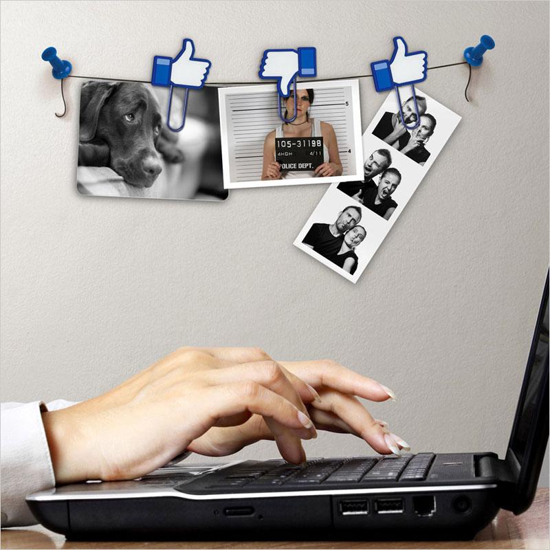 フレッド いいね!クリップ FRED フォトクリップ ペーパークリップ キャット LIKE ライク イイね フェイスブック facebook 写真 デスクアクセサリー ステーショナリー 雑貨 文具 文房具