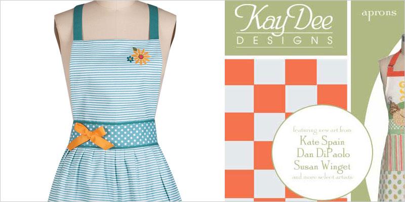 Kay Dee Design エンジョイ・ザ・ライド エプロン ケイディー カフェエプロン レトロ Enjoy The Ride ジェシースティール風