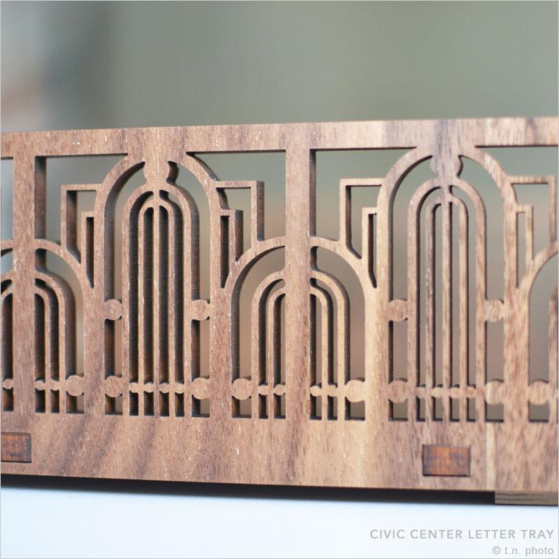フランクロイドライト レタートレー レター 手紙 書類 整理 オルガナイザー レタートレー トレイ トレー 収納 オフィス モダン FLW Frank Lloyd Wright 建築 巨匠