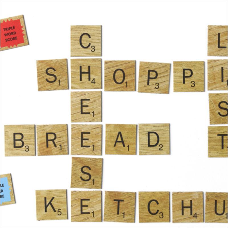 スクラブルマグネット 磁石 Scrabble アルファベット ABC タイル マグネット ゲーム スクラブル 文字 英語 キッチンマグネット オフィス ステーショナリー 文具 文房具