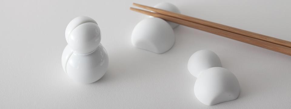セラミックジャパン おきだるま 箸置き 2個セット Ceramic Japan ダルマ 達磨 置きだるま ダルマ オキダルマ 雪だるま ゆきだるま 箸おき はし置き セラミック ジャパン キッチン雑貨