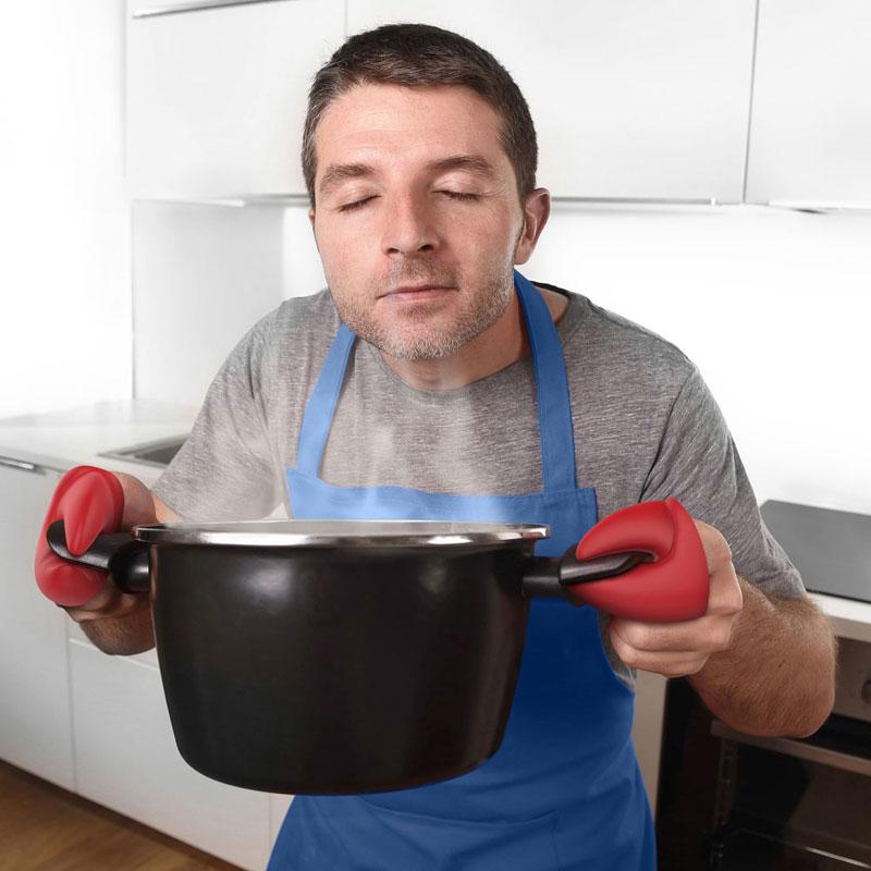 フレッド ロブスターポットホルダー 鍋つかみ 左右2個セット FRED 鍋つかみ シリコン ミトン 耐熱 おもしろ 雑貨 プレゼント おもちゃ キッチン用品 便利グッズ キッチン雑貨