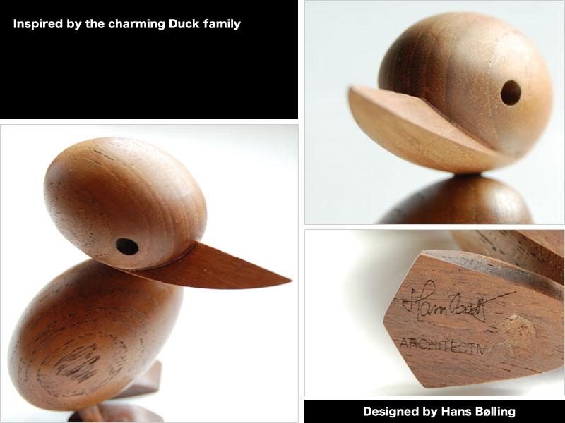 Architect MADE (アーキテクトメイド) Duck Small 【ダックスモール アヒル 木 おもちゃ オブジェ 置き物 コペンハーゲン ヨーロッパ 北欧 デザイン】