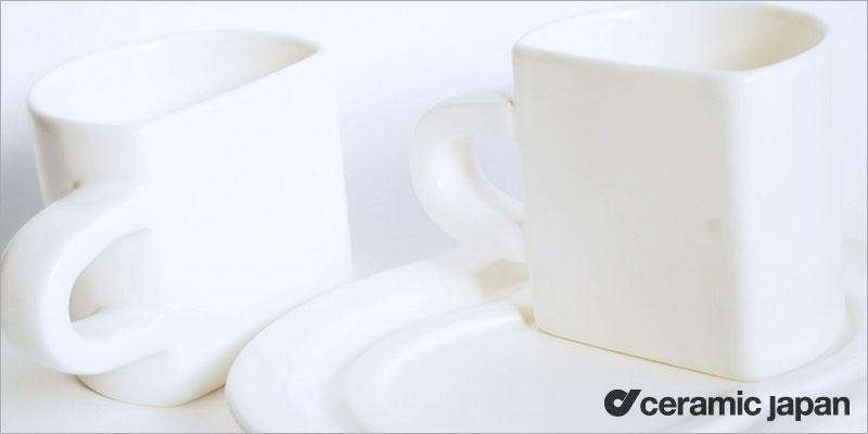 Ceramic Japan ペアカップセット【セラミックジャパン テーブルウェア コーヒー 紅茶 ギフト キッチン 食器 デザイン デザイナーズ】