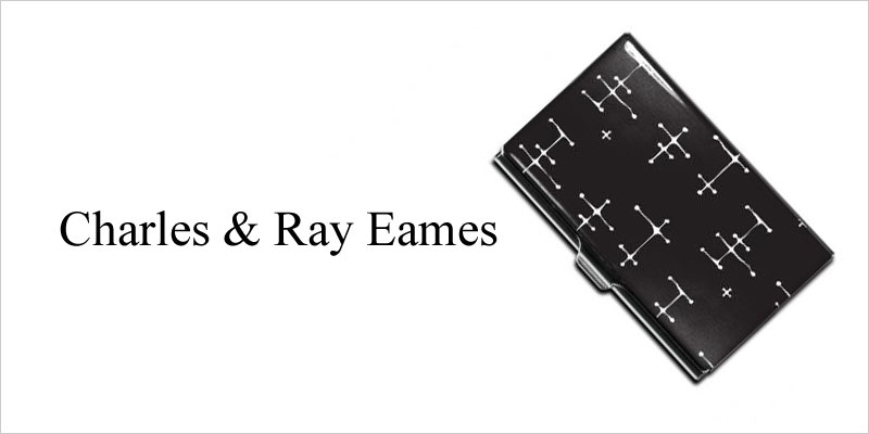 イームズ ACME DOTS SET ペン&カードケース 【アクメ Eames DOTS ドットパターン ミッドセンチュリー チャールズ&レイ・イームズ モダン デザイン 筆記用具 就職祝い 誕生日】