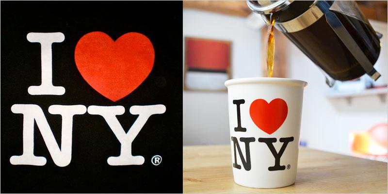 I LOVE NY コーヒーカップ 【ロハス MoMA ニューヨーク近代美術館 マグ コップ カップ コーヒー ティー キッチン雑貨】