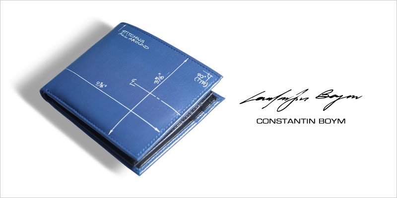 ACME BLUEPRINT レザーウォレット 【アクメ コンスタンチン・ボイム モダン デザイン 財布 服飾雑貨 就職祝い 誕生日】
