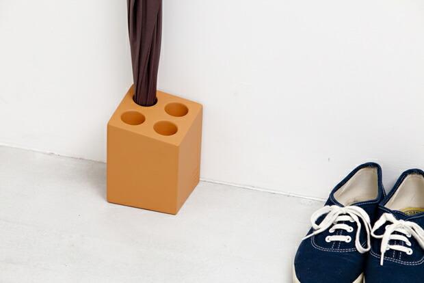 ideaco アンブレラホルダー ミニキューブ 【Umbrella holder mini cube インテリア 雑貨 収納 かさ 傘 傘立て 玄関 小物 イデアコ】