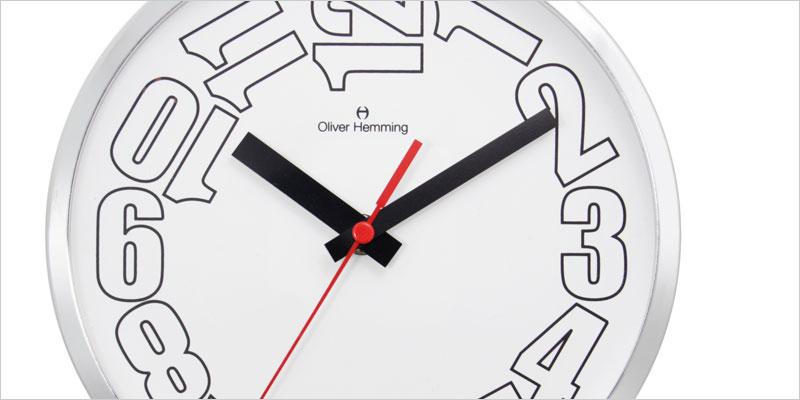 Oliver Hemming 20cm Series 20WW 掛け時計 【オリバー・ヘミング デザイン ウォールクロック 壁掛時計 時計 インテリア】