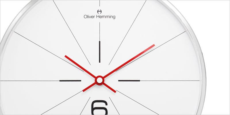 Oliver Hemming 30cm Series 26W 掛け時計 【オリバー・ヘミング デザイン ウォールクロック 壁掛時計 時計 インテリア】