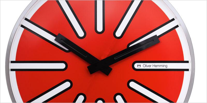 Oliver Hemming 30cm Series 42R 掛け時計 【オリバー・ヘミング デザイン ウォールクロック 壁掛時計 時計 インテリア】