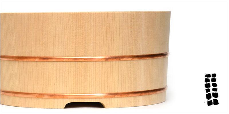 東屋 米研ぎ桶 【東屋 お米 米 ご飯 ごはん 研ぎ桶 桶 おけ キッチン 料理 木製 木】
