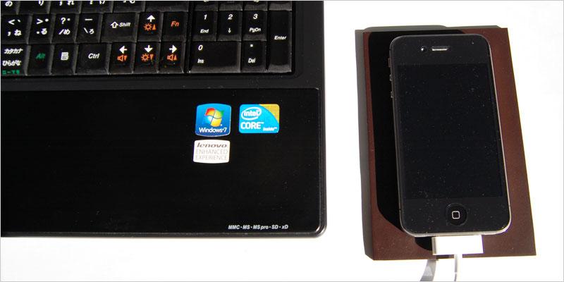 100% レザースマートフォンマット 【Leather SmartPhone Mat 本皮 iPhone スマートフォン 携帯 携帯置き 鍵置き ギフト 新築祝い】