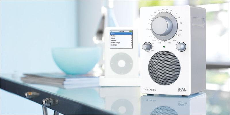 チボリオーディオ ポータブルラジオ PAL BT Tivoli Audio パル スピーカー オーディオ デザイン 高級ラジオ Bluetooth対応 インテリア