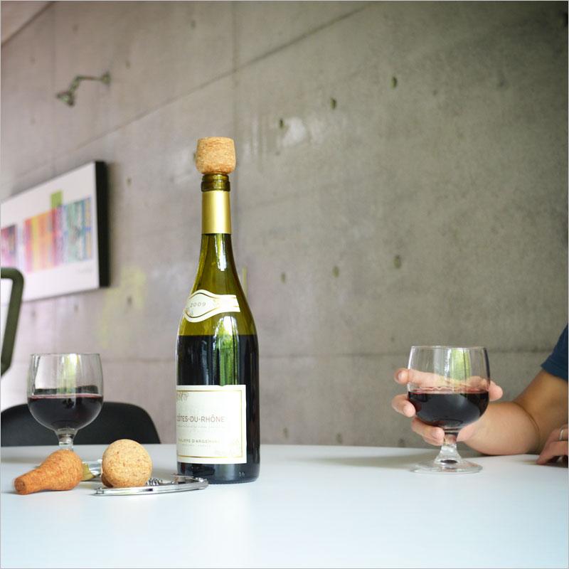 ノーマンコペンハーゲン Wine & Bar ワインストッパー (3個セット) 【normann COPENHAGEN ワイン バー ボトルストッパー キッチン雑貨 栓 コルク栓 保存 デザイン 北欧】