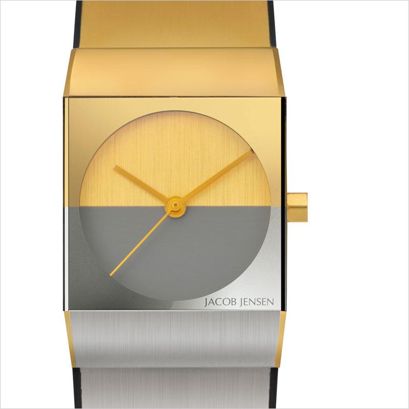 雅各· 詹森经典雅各詹森观看 523 女士金 / 银的 b & o 时钟设计