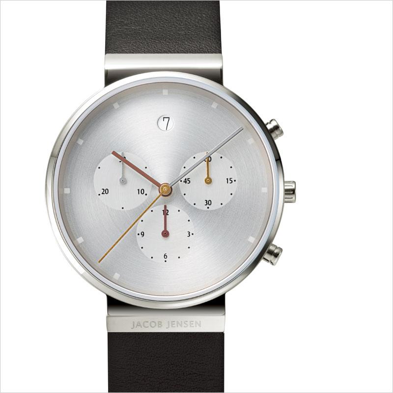 Jacob Jensen Chronograph Leather 腕時計 ヤコブ イェンセン クロノグラフ 時計 デザイン デザイナーズ モダン ウォッチ Bang & Olfsen B&O バング&オルフセン 服飾雑貨 アクセサリー
